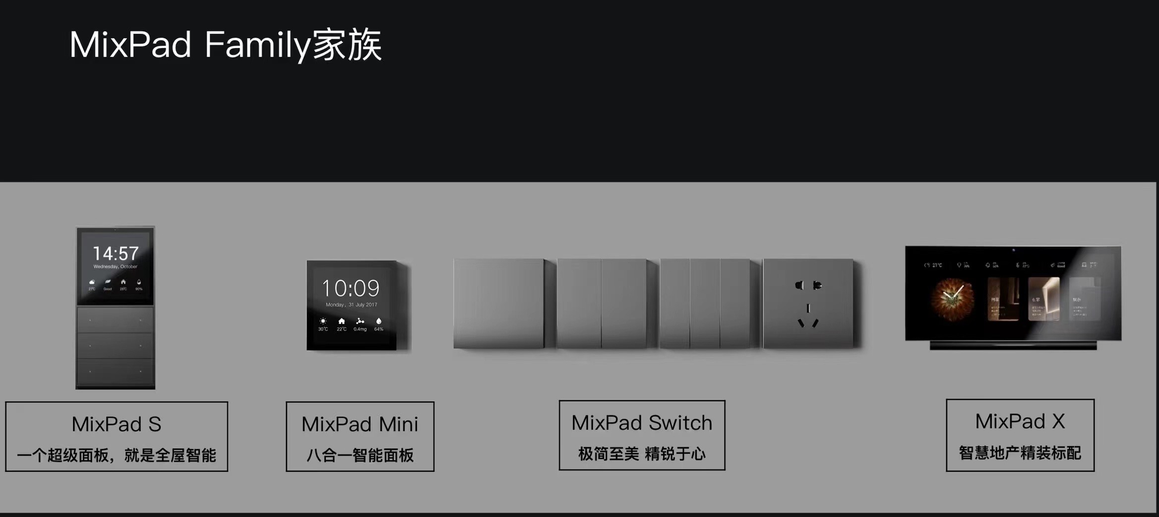 MixPad Family家族一家之主MixPadX高調亮相全宅5G智慧生活由此開啓